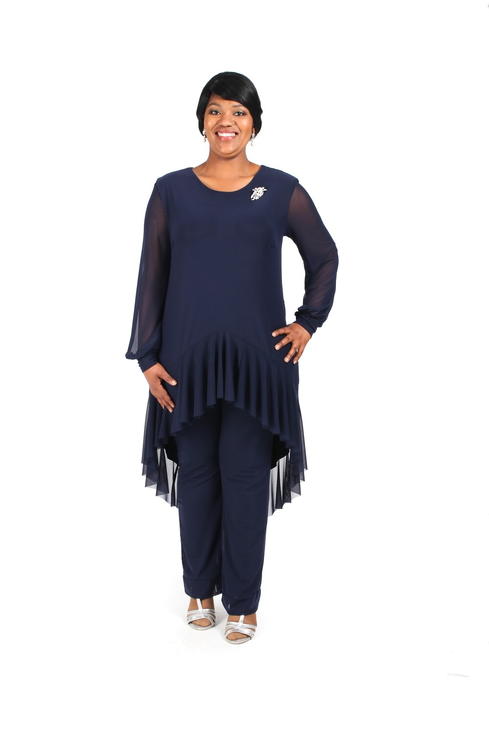 Valentina Pant Suit with Skinny Pants PS