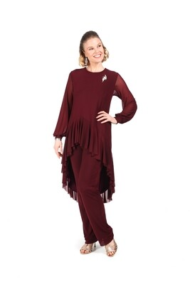 Valentina Pant Suit with Skinny Pants