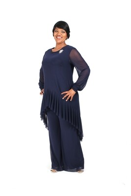 Valentina Pant Suit with wide Pants PS