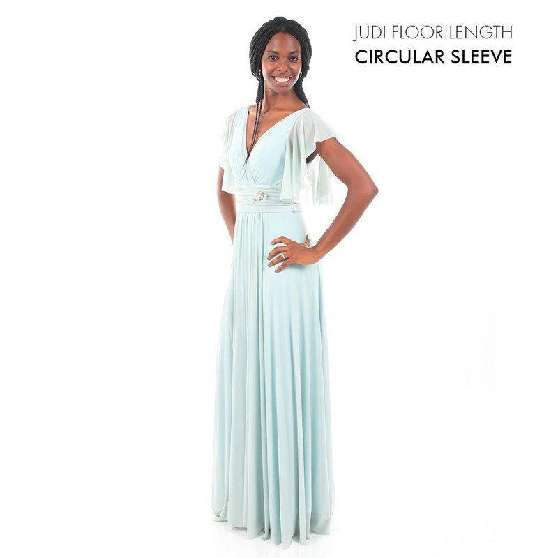 Judi with Flutter sleeve