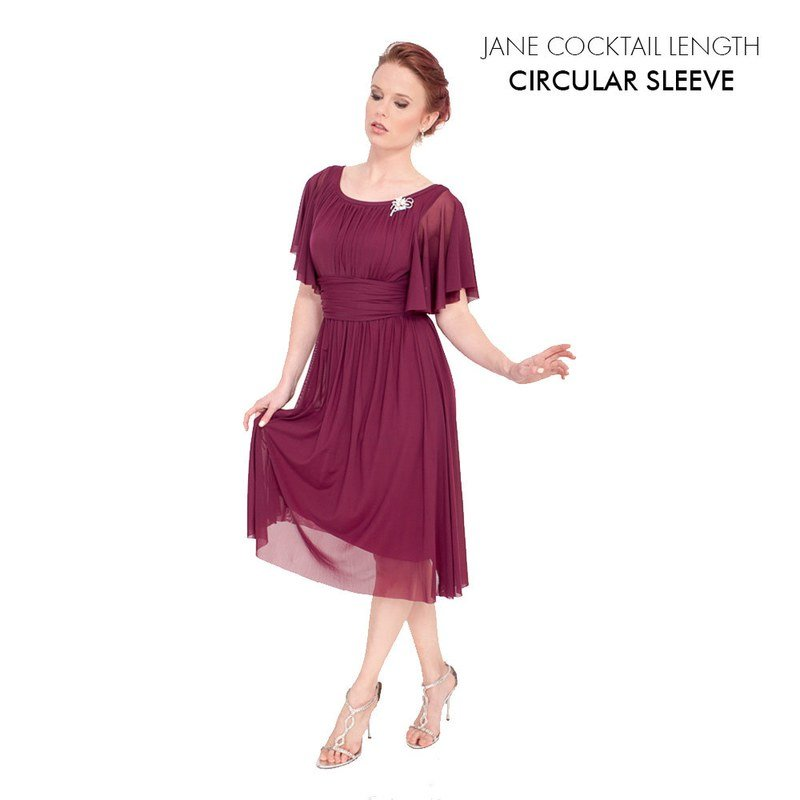 Jane Cocktail with Circular Sleeve