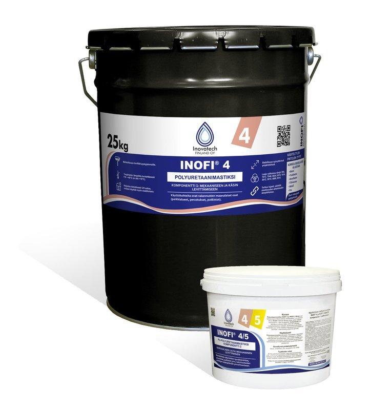 INOFI 4 Kaksikomponenttinen PU-polyuretaani mastiksi
