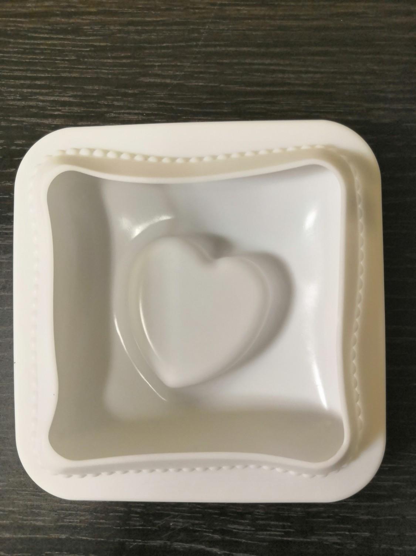 Силиконовая форма Любовь в квадрате 12*11,4 см