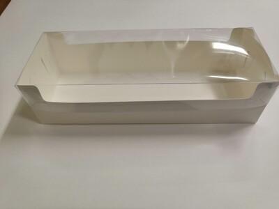 Коробка под рулет с пластиковой крышкой 30*11*8 см