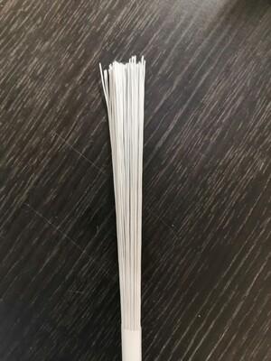 Проволока белая № 30 30 см 1 шт