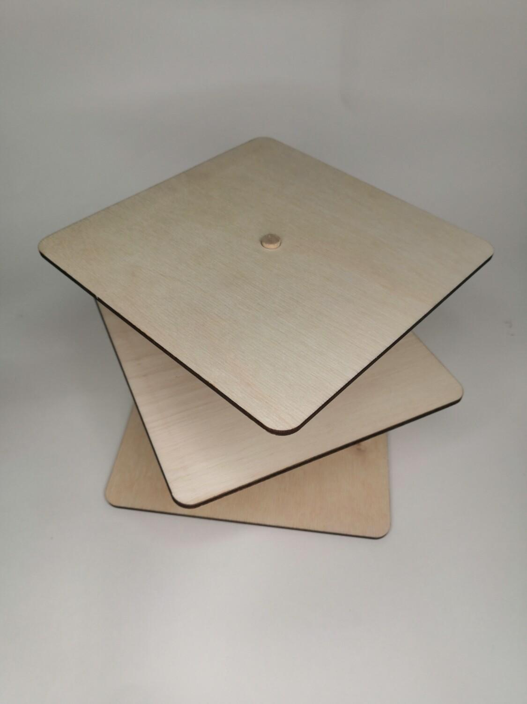 Подставка под торт кубик-рубик 17,5*17,5