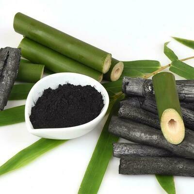 Краситель натуральный Уголь бамбуковый черный 10 гр