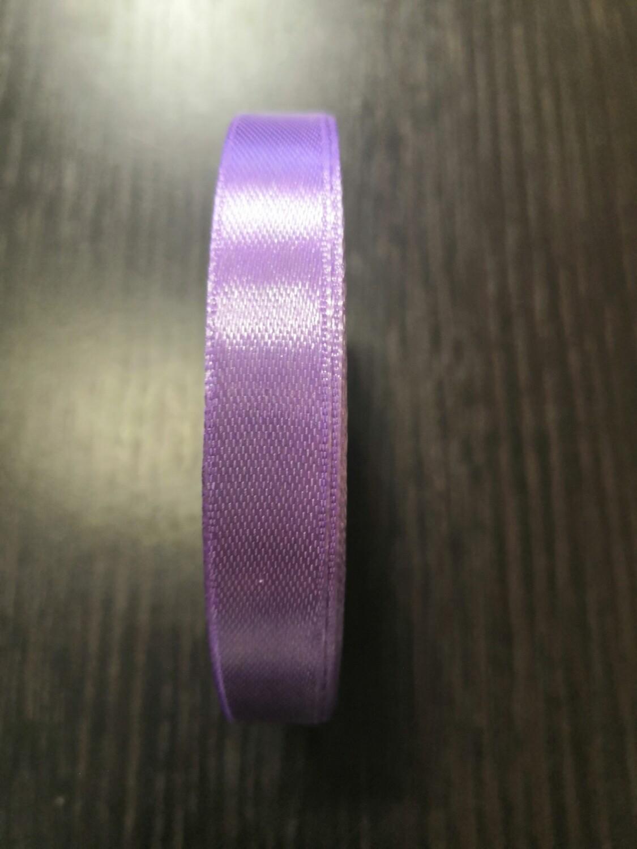 Лента атласная h 12 мм светло-фиолетовый