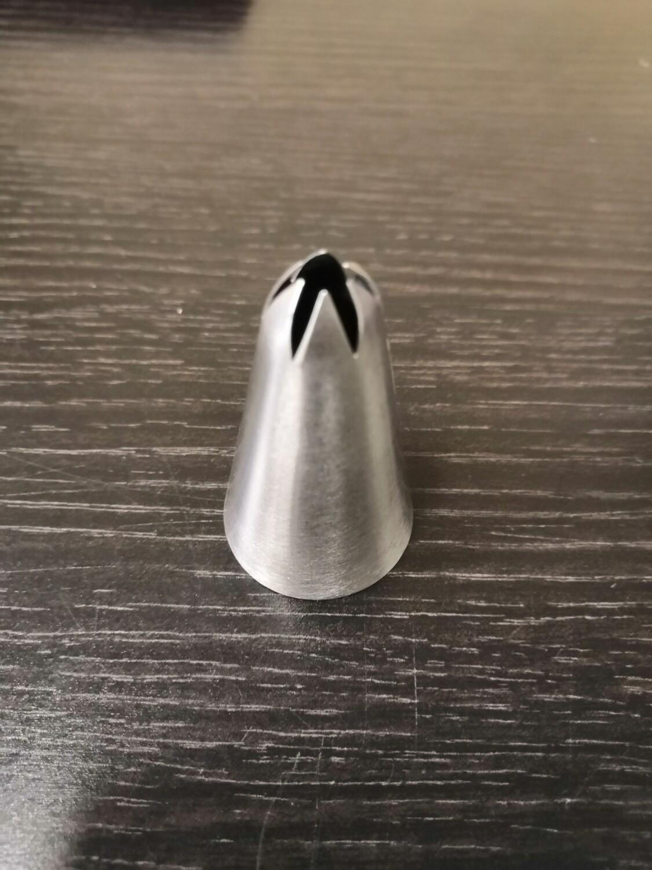 Кондитерская насадка Закрытая звезда 6 лучей 13 мм (2d)