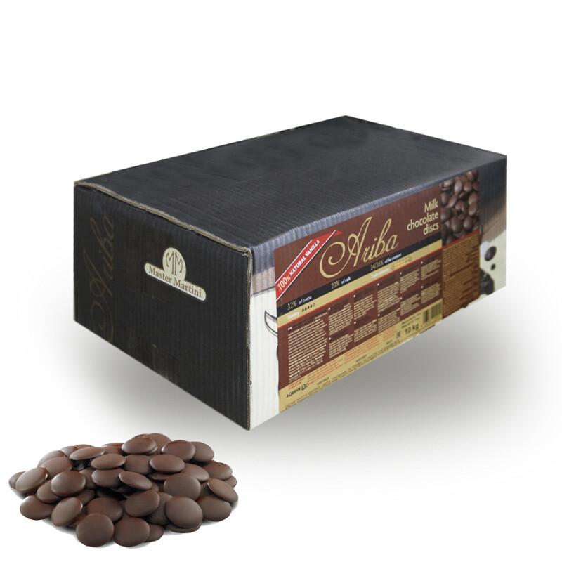 Шоколад Ariba молочный 32 % Мастер Мартини 0,5 кг