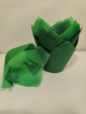 Форма бумажная Тюльпан зеленый 50х80 мм 1 шт