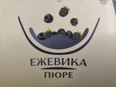Фруктовое пюре Ежевика 0,5 кг