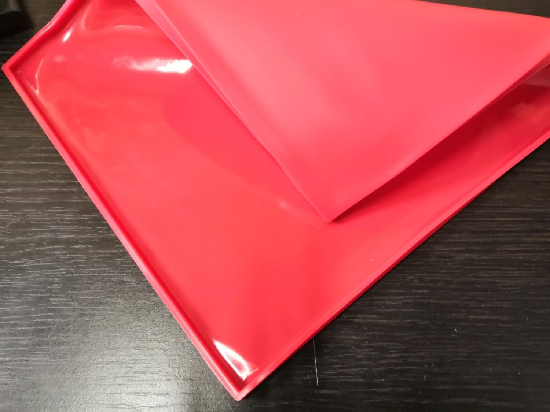 Коврик силиконовый для рулета с бортами 30,5*25,5 см