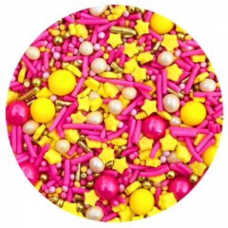 Посыпка MIXIE Клубничный лимонад 50 гр