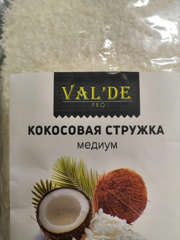 Кокосовая стружка Valde медиум 100 гр
