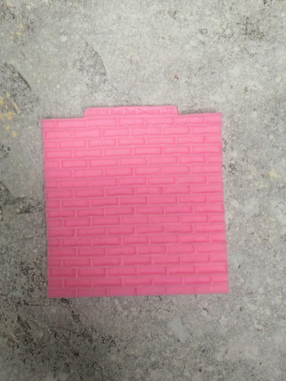 Молд силиконовый Кирпичная стена 10*10 см