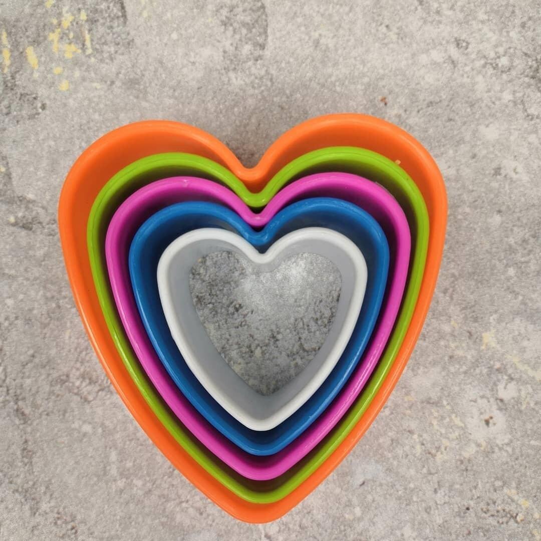 Набор вырубок Сердце