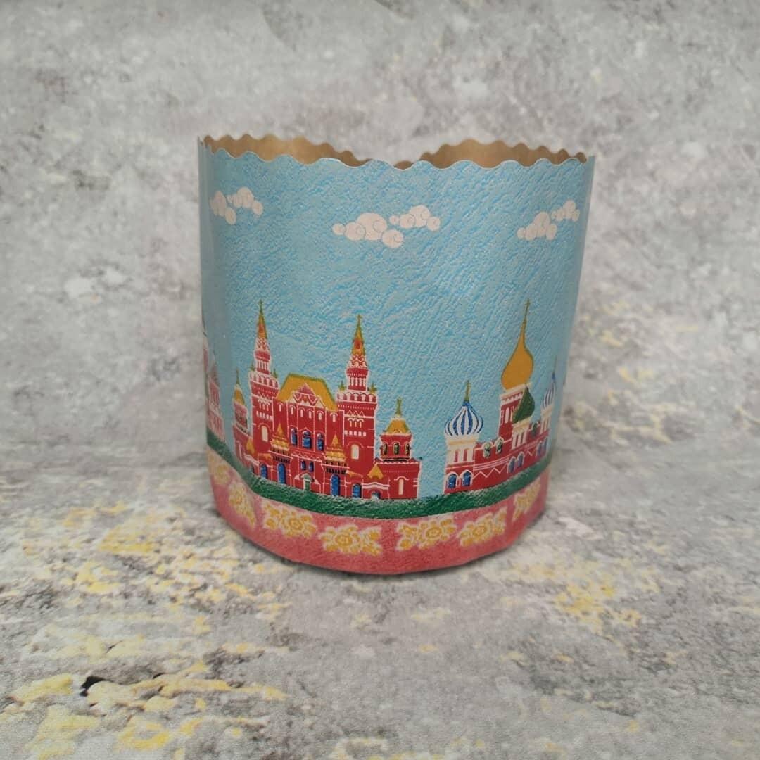 Форма для кулича Кремль d90 h90 250гр