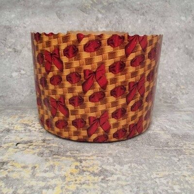Форма для кулича Плетеная d134 h95 500 гр