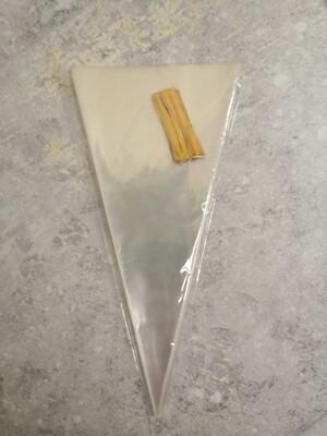 Пакет конус 18*37 см 100 шт