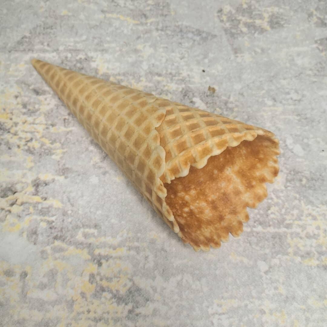 Вафельный рожок 150 мм естественный край 1 шт