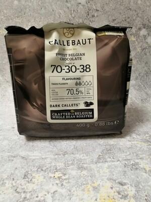 Barry Callebaut горький бельгийский шоколад 70.4% 200 гр