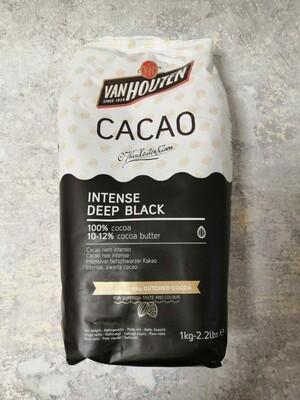 Какао порошок Van Houten черный 100 гр