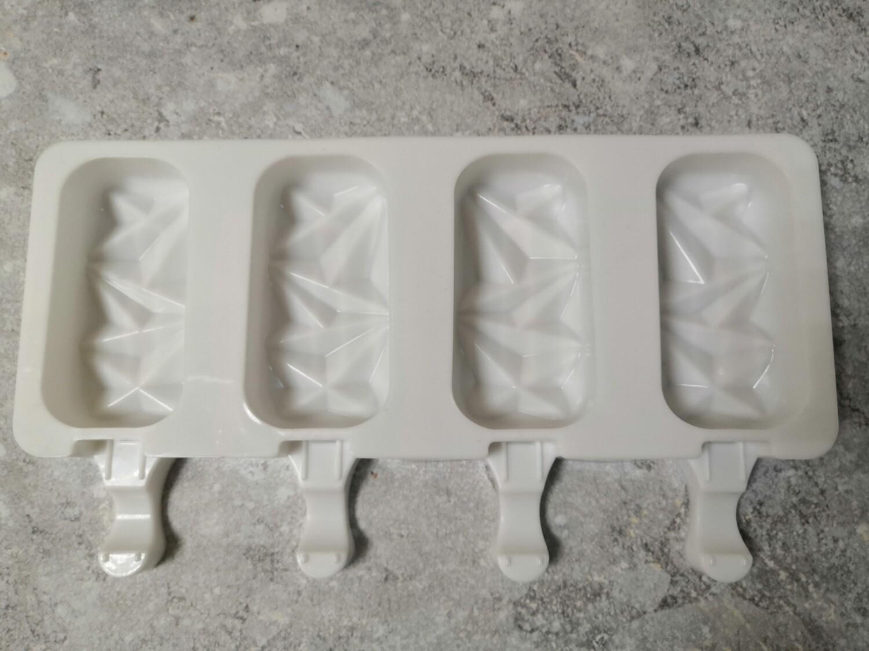 Форма силиконовая Эскимо с гранями