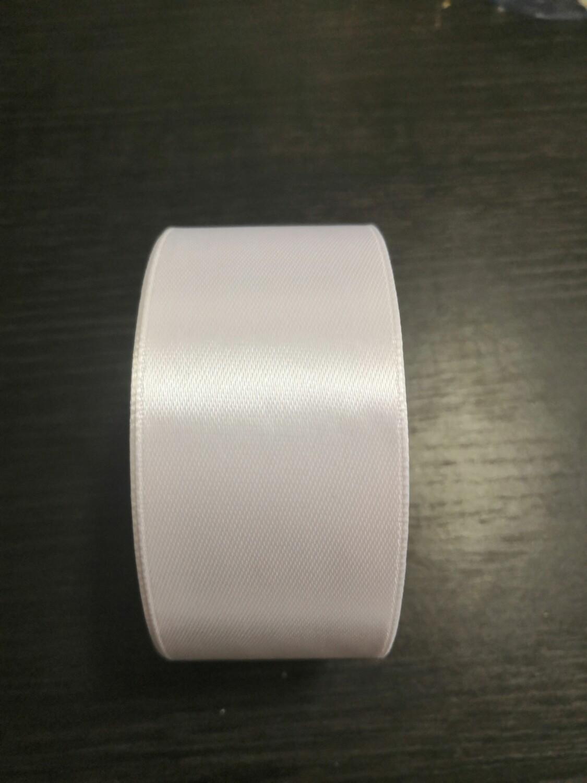 Лента атласная h 4 см белый