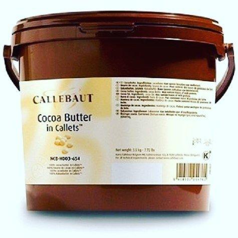 Какао масло Callebaut 200 гр