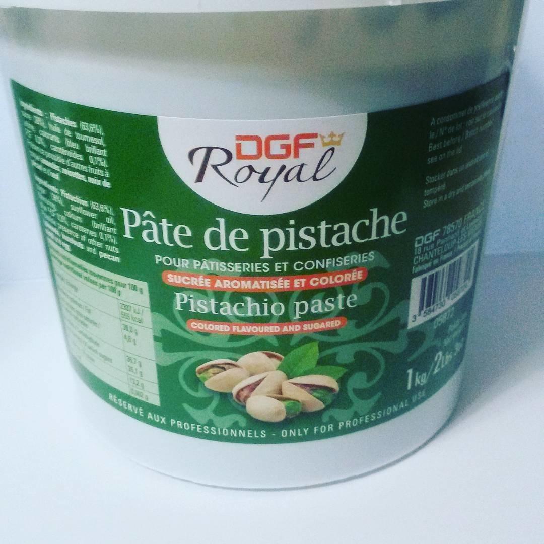 Фисташковая паста DGF royal с сахаром 63.6% 100 гр