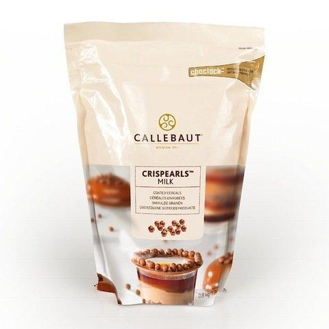 Шоколадные молочные хрустящие шарики Barry Callebaut 50 гр