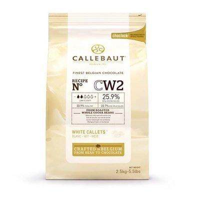 Шоколад Barry Callebaut белый, 25,9% какао, в галетах 2,5 кг