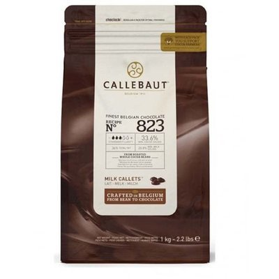 Шоколад Barry Callebaut молочный 33,6% 500 гр