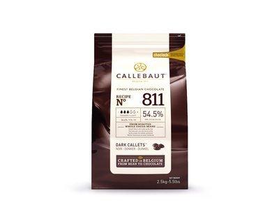 Шоколад Barry Callebaut темный 54,5% 2.5 кг