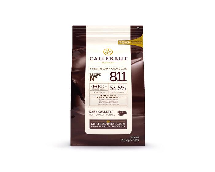 Шоколад Barry Callebaut темный 54,5% 500 гр