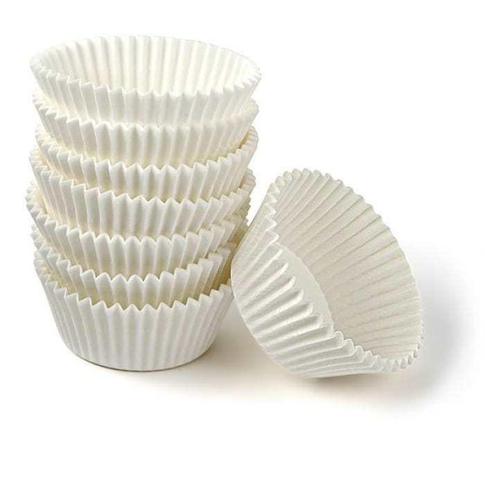 Капсулы из жаропрочного пергамента белые 50*30 мм примерно 30 шт