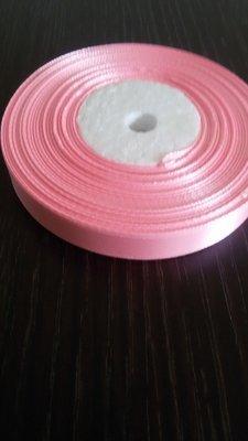 Лента атласная h 12 мм светло розовый