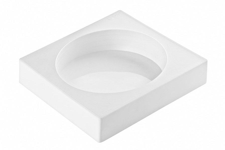 Форма силиконовая Круг объем 500 мл, диаметр 13.5 см