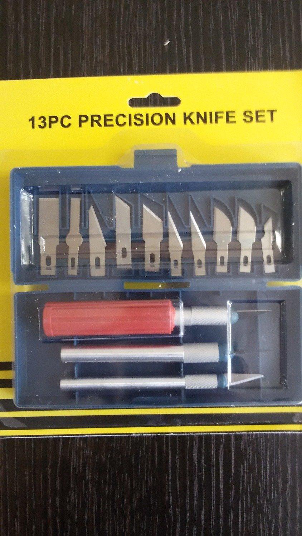 Ножи для декора металл 13 предметов