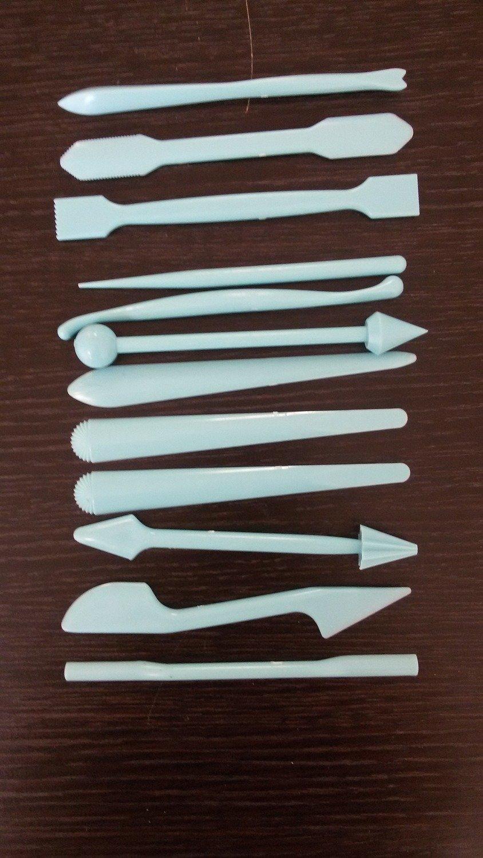 Набор для моделирования 12 предметов пластик