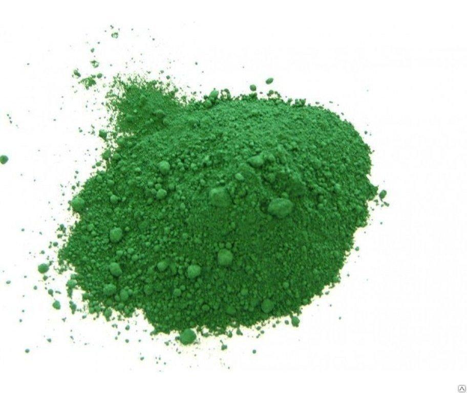 Краситель сухой жирорастворимый Зеленый 8 гр