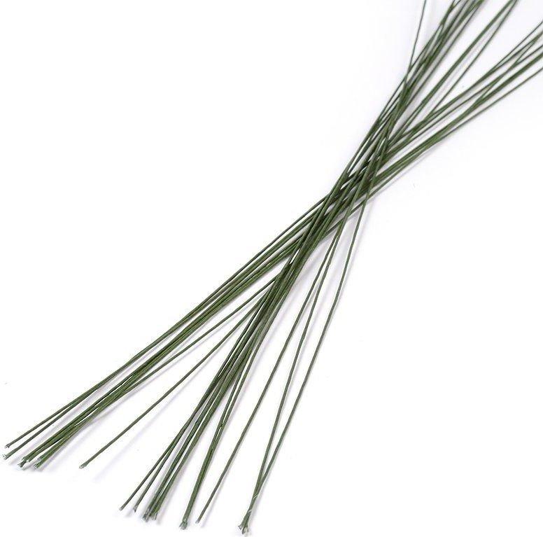 Кондитерская проволока зеленая 0,8 мм 40 см 1 шт
