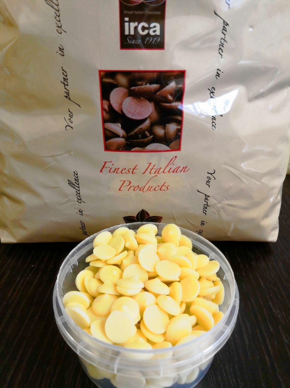 Шоколад белый IRCA 25% 0.5кг