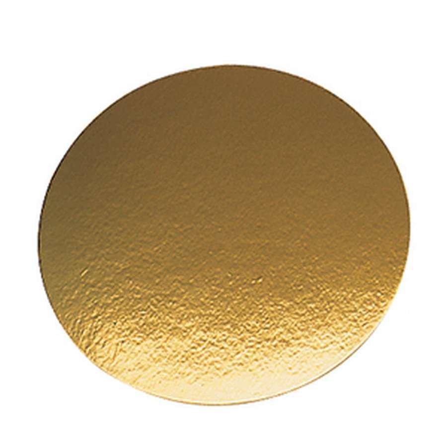 Подложка плотность 0.8 мм золото d 18