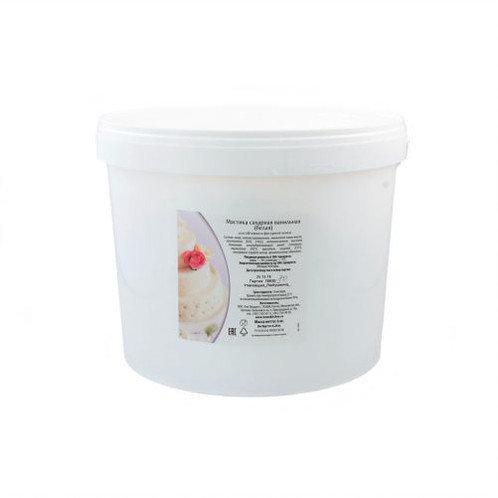 Мастика сахарная ванильная белая Топ декор 6 кг