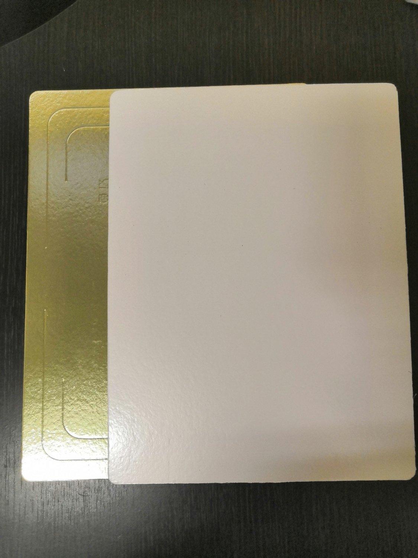 Подложка плотность 3,2 мм золото/жемчуг 300*400 мм