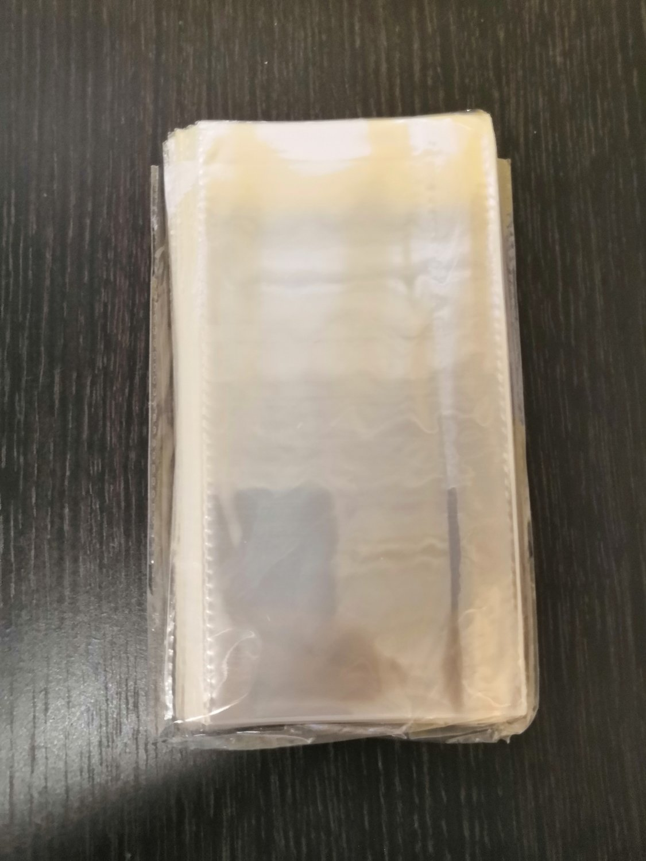 Пакеты для пряников без липкого края 10*20 см 20 шт