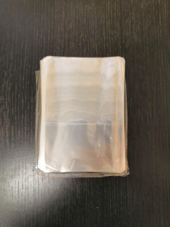 Пакеты для пряников без липкого края 12*20 см 20 шт
