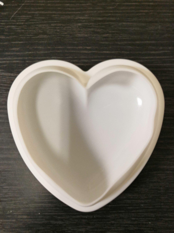"""Форма силиконовая 3D """"Сердце"""" 15,5*15,5*5,5 см"""